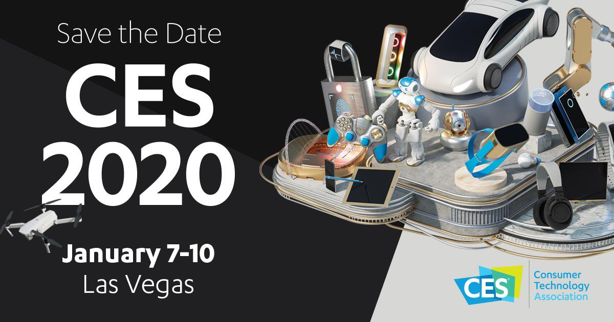 CES 2020 Invites innovators and technology experts in Las Vegas on 7-10 January
