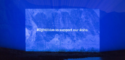 AEV Member Venues Turn Blue in Support of NHS Workers amid COVID-19 Pandemic